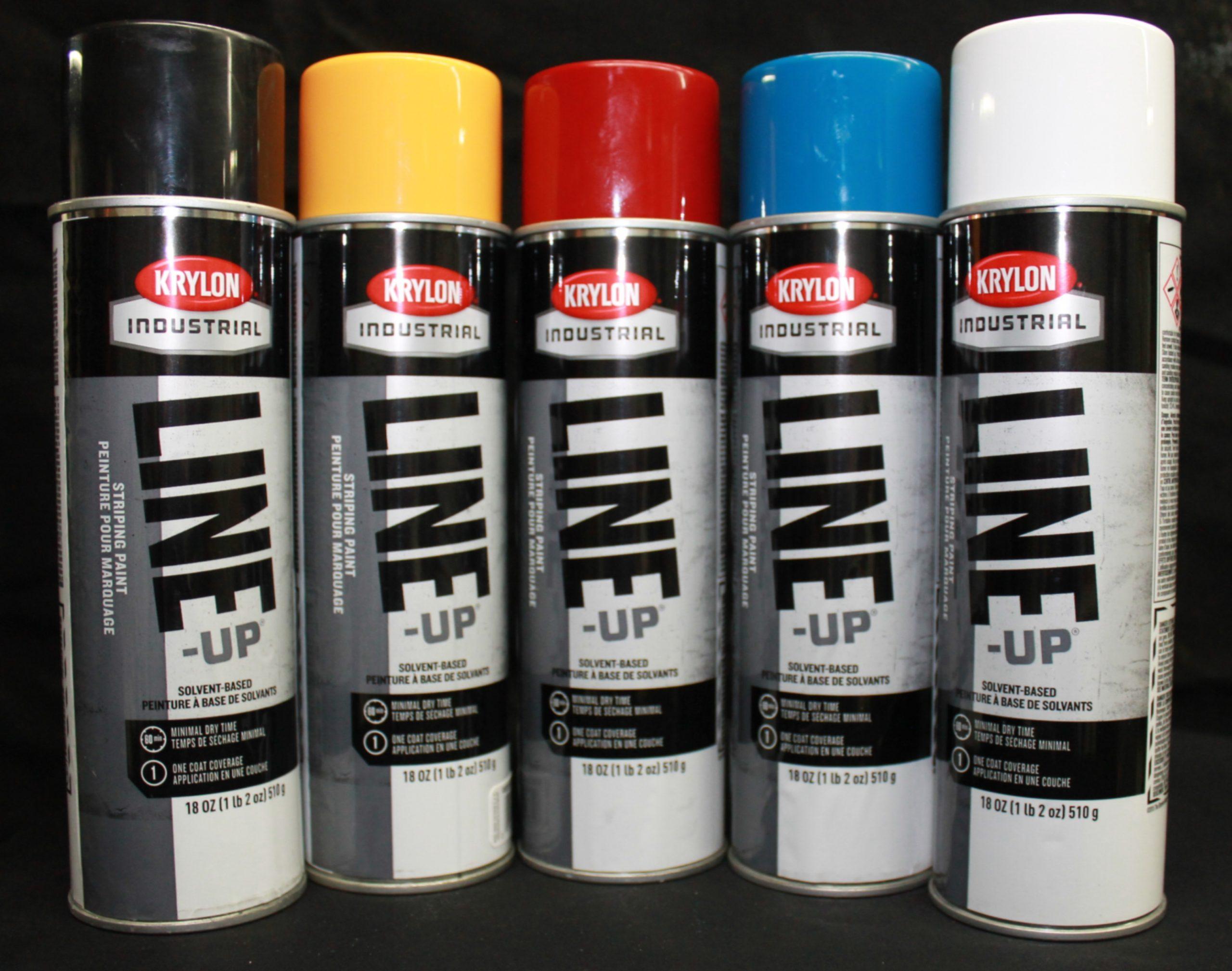 Krylon Oil Base Traffic Marking Paint