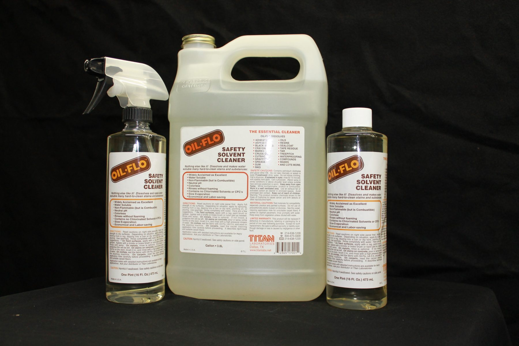 Oil Flo Cleaner And Degreaser