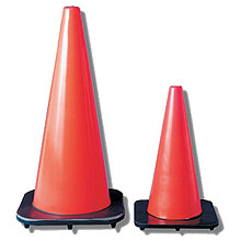 Poly Orange Cones