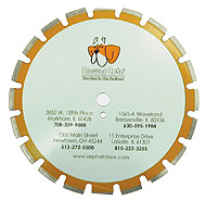 14″ Wet-dry Cut Asphalt Diamond Blade