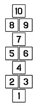 7″ 6′ Hopscotch Kit