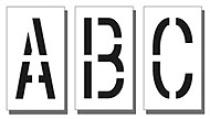 18″ Alphabet and Number Kits, Wording and Characters